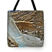 Steaming Steps Tote Bag