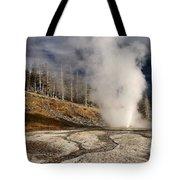 Steaming Streams Tote Bag