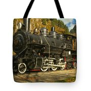 Steaming Through The Fall Tote Bag