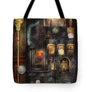Steampunk - All That For A Cup Of Coffee Tote Bag