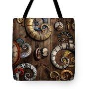 Steampunk - Clock - Time Machine Tote Bag