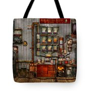 Steampunk - Coffee - The Company Coffee Maker Tote Bag