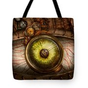 Steampunk - Creepy - Eye On Technology  Tote Bag