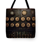 Steampunk - Electrical - Center Of Power Tote Bag by Mike Savad