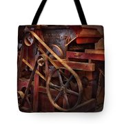 Steampunk - Gear - Belts And Wheels  Tote Bag