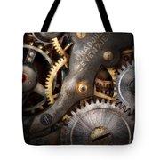 Steampunk - Gears - Horology Tote Bag