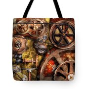 Steampunk - Gears - Inner Workings Tote Bag