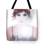 Steampunk Geisha Photographer Tote Bag