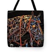 Steampunk Horse Tote Bag