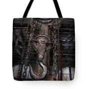 Steampunk - Industrial Strength Tote Bag by Mike Savad
