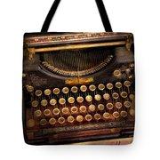 Steampunk - Just An Ordinary Typewriter  Tote Bag