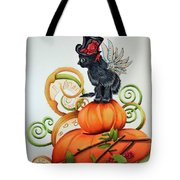Steampunk Kitten Tote Bag
