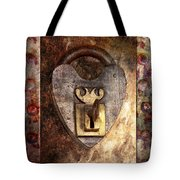 Steampunk - Locksmith - The Key To My Heart Tote Bag by Mike Savad