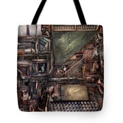 Steampunk - Machine - All The Bells And Whistles  Tote Bag
