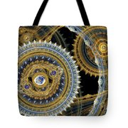 Steampunk Machine Tote Bag