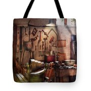 Steampunk - Machinist - The Inventors Workshop  Tote Bag