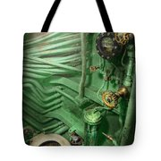 Steampunk - Naval - Plumbing - The Head Tote Bag