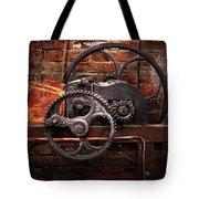 Steampunk - No 10 Tote Bag by Mike Savad