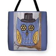 Steampunk Owl Tote Bag
