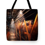 Steampunk - Plumbing - The Hallway Tote Bag