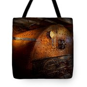 Steampunk - Plumbing - The Home Of A Stoker  Tote Bag by Mike Savad