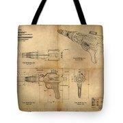 Steampunk Raygun Tote Bag