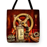 Steampunk - Spare Gears - Mechanical Tote Bag