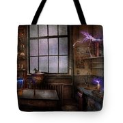 Steampunk - The Mad Scientist Tote Bag
