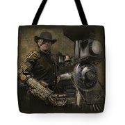 Steampunk - The Man 1 Tote Bag