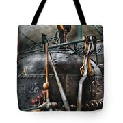 Steampunk - The Steam Engine Tote Bag