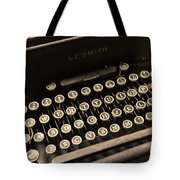 Steampunk - Typewriter - The Age Of Industry Tote Bag by Paul Ward