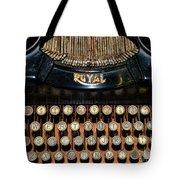 Steampunk - Typewriter -the Royal Tote Bag