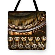 Steampunk - Typewriter - Underwood Tote Bag