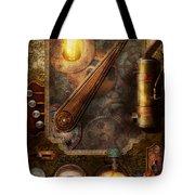 Steampunk - Victorian Fuse Box Tote Bag