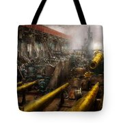 Steampunk - War - We Are Ready Tote Bag