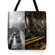 Steampunk - War - We Are Ready - Side By Side Tote Bag