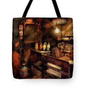 Steampunk - Where Experiments Are Done Tote Bag