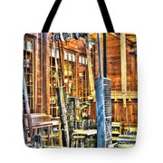 Steampunk Woodshop 3 Tote Bag