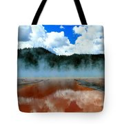 Steams And Reflections Tote Bag