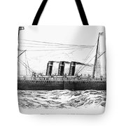 Steamship - City Of New York Tote Bag
