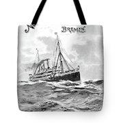 Steamship Menu, 1901 Tote Bag