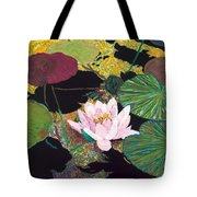 Steamy Pond Tote Bag