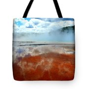 Steamy Springs Tote Bag