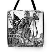 Stede Bonnet (c1688-1718) Tote Bag
