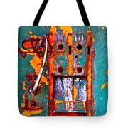 Steel Abstraction Tote Bag