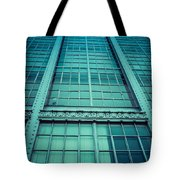 Steel And Glass Tote Bag