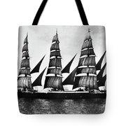 Steel Barque, 1921 Tote Bag