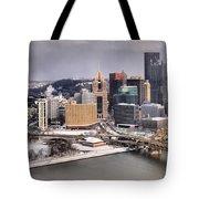 Steel City Storm Clouds Tote Bag