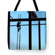 Steel Construction Tote Bag