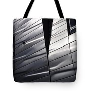 Steel Currents Tote Bag